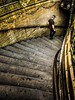 323 of 365: Down To The Metro (tainkeh) Tags: metropolitain metro transport stair tile color street person man portdeversailles france paris tuesday summer june 2018 365