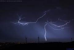 2018.06.21 - 013250 (NIKON D7200) [Carvalha] (Nuno F. C. Batista) Tags: clouds nuvens portugal lusoskies lightning relâmpago thunderstorm trovoada storm night sky nikon severeweather storms photography margemsul skies portuguese meteorology cumulunimbus d7200 arrudadosvinhos carvalha