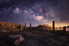 Agios Stefanos (Michael Eberth) Tags: milkyway milchstrase kos greece griechenland sea meer nightsky