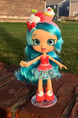 Jessicake (linda_lou2) Tags: 365the2018edition 3652018 day177365 26jun18 365toyproject 177365 shopkins shoppie jessica doll toy figure iphone iphone6splus