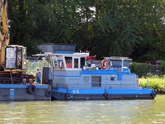 M IV (ENI 05609120) (Parchimer) Tags: schubboot pushboat towboat pousseur pchacz duwboot spintore empurradorfluvial binnenschiff tolómotorhajó pushertug mittellandkanal hannover