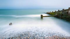 JUN 29 18 - CROMER-1697 (mrstaff) Tags: martinstafford beach cloudy cromer coast groyne june 29 2018 long exposure norfolk pebbles pier seascape stones