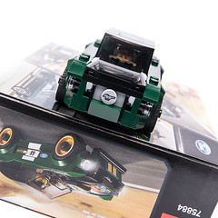 75884 rebuild mode (KEEP_ON_BRICKING) Tags: lego moc mod set car ford mustang 75884 legoset dark green musclecar legocar legospeedchampions speed champions keeponbricking 2018