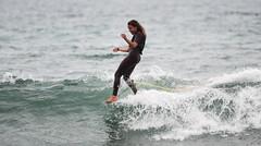 ALICE LEMOIGNE (FRA) (Tim Hanson-) Tags: surfrelik firstpointmalibu surfriderbeach surf surfer surfing longboard singlefin surfergirl malibu california