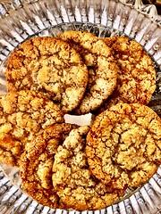 Oatcookies in a bowl (Kerstin Jönsson) Tags: sweet sugar oat cookie