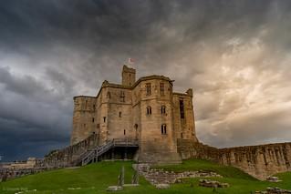 Warkworth Castle - Northumberland UK