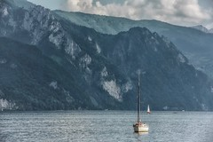 Winds Of Destiny (Anna Kwa) Tags: traunsee lake salzkammergut gmunden boats mountains alps austria annakwa nikon d750 7002000mmf28 my destiny fate always seeing heart soul throughmylens winds life journey earth travel round world fade onemoretime laurapausini messageinabottle nicholassparks