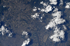 A clear day over Beijing (Astro_Alex) Tags: china beijing clouds space earth esa iss view