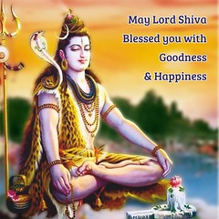 May Lord Shiva Blessed you with Goodness & Happiness (Gurukrupa Printwell) Tags: lordshiva shravanmonth beblessed harharmahadev