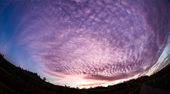 Awesome Sky (Bugtris) Tags: perspective 815f4l sky abend canon landschaft fisheye 5dmkiii