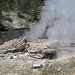 Mortar Geyser eruption - passive steaming (early afternoon, 6 June 2018) 4