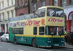 Dublin Bus RH4 (90D1004). (Fred Dean Jnr) Tags: november2004 dublinbus busathacliath dublin dublincitytour bstone olympian alexander r opentop rh4 90d1004 oconnellstreetdublin