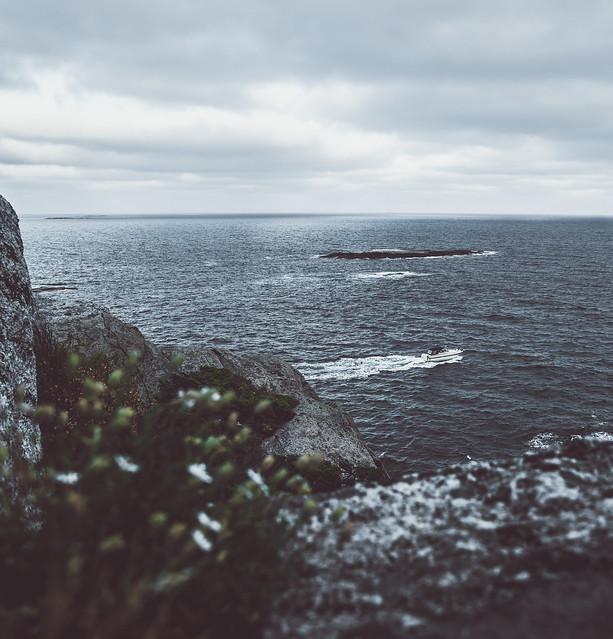 Coastline of Norway.