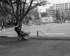Super fan (Bill Morgan) Tags: fujifilm fuji x100f bw jpeg acrosy lightroomclassic mitaka