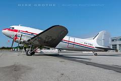 DDA_DC-3_PH-PBA_20180715_LBC-01 (Dirk Grothe | Aviation Photography) Tags: classic dutch dakota dc3 phpba lbc lübeck dda