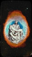 Pietà (Shahryar Shon) Tags: vintage vaporwave illustration pieta michelangelo