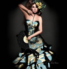 Como quisiera poder vivir sin ti... (Lori Novo) Tags: lorinovo secondlife avatar blogger virtual jumo senseevent lode gown