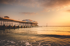 Sunrise Vista (unciepaul) Tags: cromer pier sunrise seaside sunday earlymorningphotos a6000 beautiful blueskyclouds clouds colours contrast dawn early earlystartagain england gentle iso 100 tripod lightroom july landscape norfolk sonya6000