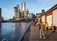 Down by The Boatbuiders Yard (gifas) Tags: theboatbuidersyard southwharf melbourne yarrariver australia wintersun lateafternoon victoria