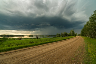 Country Road, Barrhead Co., Alta