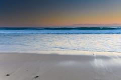 Sunset Seascape and Waves (Merrillie) Tags: sand landscape sunset seashore nature swansea newsouthwales waves nsw beach ocean lakemacquarie sea bay coastal seascape natural waterscape catherinehillbay coast australia seaside