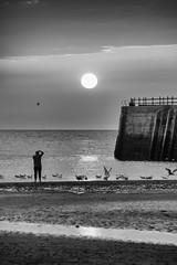 Stranger on the shore (@bill_11) Tags: england isleofthanet kent margate places sunset unitedkingdom weatherandseasons gb