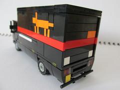 Leyland Roadrunner LYNX Express Delivery Network (Lego guy 2) Tags: leyland roadrunner lynx express delivery network daf 45 lego truck van