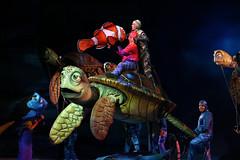Finding Nemo - The Musical (Rick & Bart) Tags: waltdisneyworldresort animalkingdom disney orlando florida rickvink rickbart canon eos70d disneyworld musical theatre puppetry pixar findingnemo show