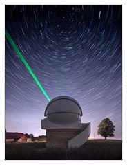 Light Show (apodemetes) Tags: wald bern schweiz ch lonelyspeck purenight canontse24mmf35lii startrails stars