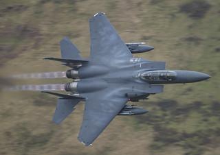 F15 (Roar 11 flight) during low level training (explored 19/6/18)