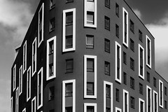 _ _ _ the original in cinnabar_ _ _ (christikren) Tags: cinnabar zinnoberrot austria architecture building christikren blackwhite bw grey vienna windows wien sw lines noiretblanc himmel panasonic geommetry