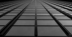 glass front -2- (MAICN) Tags: 2018 lines dortmund architektur building mono symmetrisch windows sw glass linien geometrisch bw glas blackwhite monochrome fassade architecture schwarzweis fenster front einfarbig symmetric hochhäuser geometry gebäude
