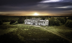 Woodlawn house - SunSet (adrianmoorephotography) Tags: decay stately mansion grand building colour irish connacht ruin history woodlawn house galway ireland photography abandoned landscape