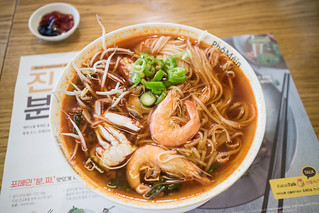 Spicy Seafood Noodle Soup.