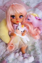 Ponymaniac • ω •。 (Pliash) Tags: doll custom madeleinedolls madeleine dolls groove kit mio mocha make it own dark full pullip japanese asian little pony mlp g3 fluttershy