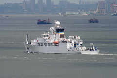 USNS Maury (T-AGS-66), at Staten Island, New York, USA. May, 2018 (Tom Turner - NYC) Tags: white bay marine maritime pony port harbor harbour transport transportation statenisland newyork nyc bigapple unitedstates usa fleetweek fleetweek2018 fleetweeknyc tomturner unsa maury unsmaury tags66 research survey