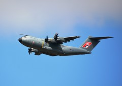 RAF 100 Centenary Flypast, Airbus A400M Atlas (Stuart Axe) Tags: flypast raf raf100 aircraft chelmsford essex uk england royalairforce cityofchelmsford raf100centenaryflypast gb countytown unitedkingdom greatbritain countyofessex aviation airplane planes airbus a400m atlas airbusa400m