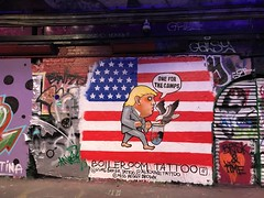One For The Camps - Boileroom Tattoo (Aaron Ubasa) Tags: art streetart streets graffiti tunnel centrallondon central london leakestreet
