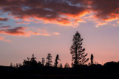 Sunset Dance (Yaecker Photography) Tags: sierra sierranevada mountains yosemite yosemitenationalpark sunset sunrisesunset sunsets sunriseandsunset glow