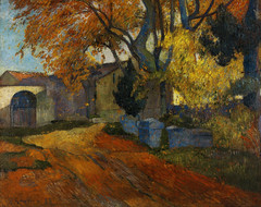 Paul Gauguin - L'Allee des Alyscamps Arles, 1888 at Seiji Togo Memorial Sompo Japan Nipponkoa Museum of Art Tokyo Japan (mbell1975) Tags: shinjukuku tōkyōto japan jp paul gauguin lallee des alyscamps arles 1888 seiji togo memorial sompo nipponkoa museum art tokyo museo musée musee muzeum museu musum müze museet finearts fine arts gallery gallerie beauxarts beaux galleria painting catalog postcard french impression impressionist impressionism