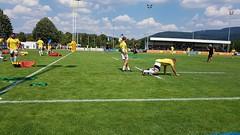 Aufwärmen (P o i t a s c h) Tags: rugby