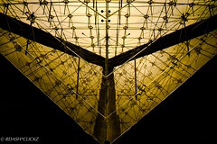 Pyramid_Paris (BARUN DASH) Tags: european europe museum paris france illumination illuminate pyramid inverted pyramide inversee dusk scenic serene sublime inside dark winner glow glowing beauty friendly engineering engineered marvel magnificent math symmetry symbol contrast dim evening love architecture man structure megastructure antistructure pure glass skylight louvre orientation steel davincicode caisson frame pei chalice mary magdalene christ christianity danbrown low lowkey excellence brilliant bright elegant elegance indoor