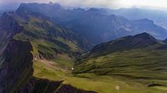 Fluebrig (Silvan Bachmann) Tags: breathtakinglandscape ngc switzerland swiss suisse canton schwyz ochsenboden mountain fluebrig nature landscape scenery drone dji phantom swissalps hike hiking green sun clouds