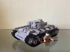 KV-1S (1942) 1/40 scale (cool_studio2282) Tags: lego ww2 soviet kv 1s 140 moc