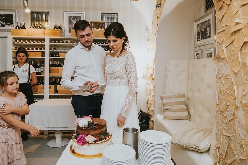604 - ZAPAROWANA - Kameralny ślub z weselem w Bistro Warszawa