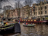 Amsterdam Boat (michaelhertel) Tags: amsterdam holland netherland boot grachten travel holiday nik colour