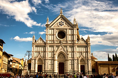 Santa Croce - Florencia. (Miguel Angel SGR) Tags: florencia florence firenze italia italy city ciudad travel trips tourism touring journey tour tourist viajes viajar vacation luz light cityscape architecture arquitectura iglesia church temple cielo sky lights nikon d7200 nikond7200 monumento monuments basilica miguelangelsgr miguelonphotography