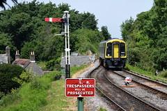 South Western Railway 159003 - Corfe Castle (Sammy4044) Tags: swanage railway rail south western 159 summer 2018 33 diesel