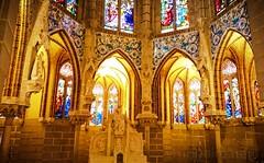 Capela do Palácio Episcopal (vmribeiro.net) Tags: astorga espanha capela palácio episcopal gaudí capilla spain neogothic sony z1 window architecture building