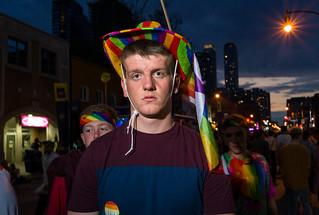 Toronto Pride, June 2018.